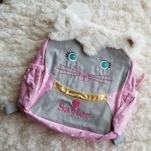 PB kids Classic Critter Kitty Pre-school backpack